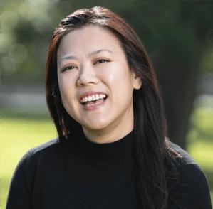 Charlene Tan Modern Marketer | Vermilion Pinstripes