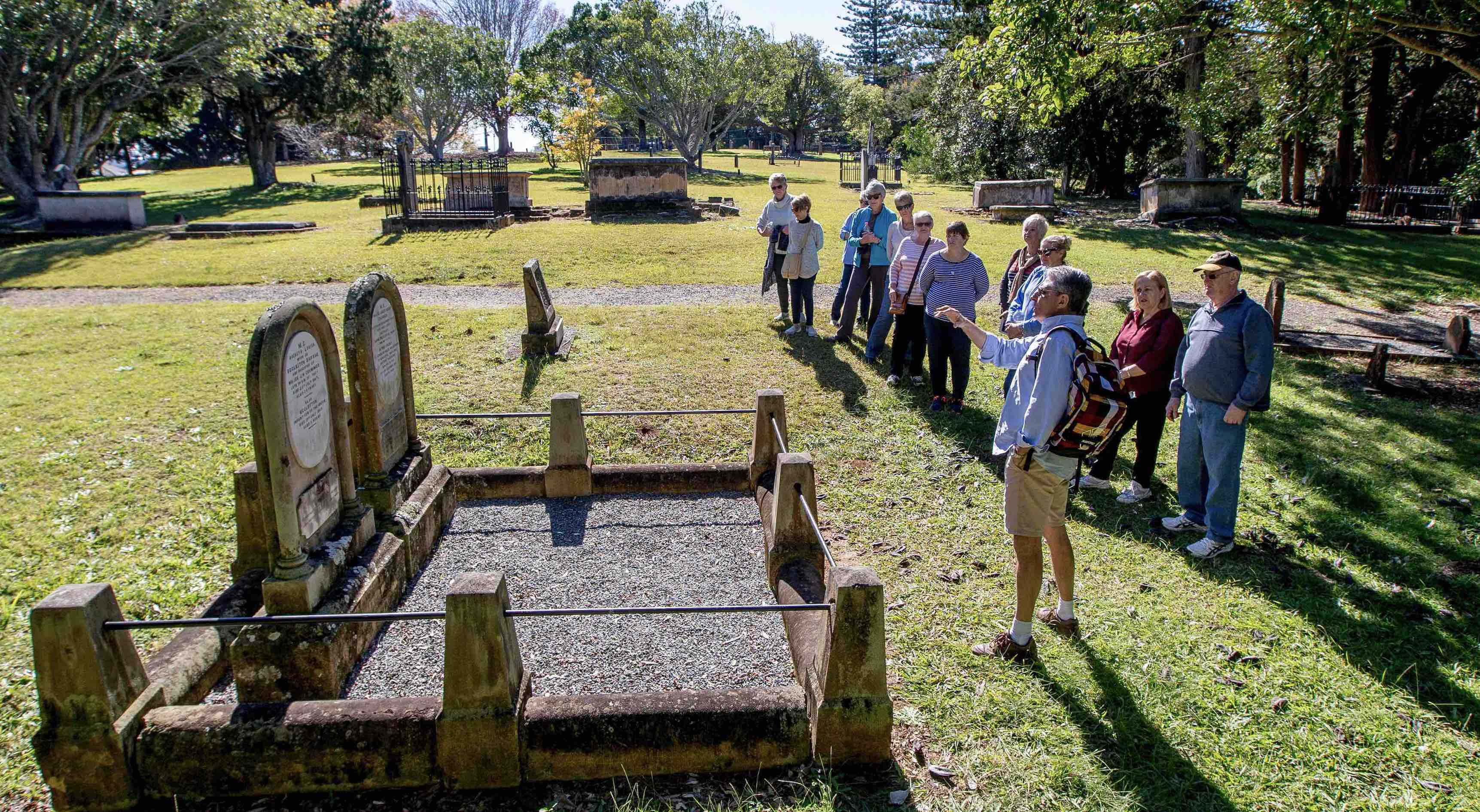 Grave Tales Port Macquarie Walking Tour by Mitch McKay