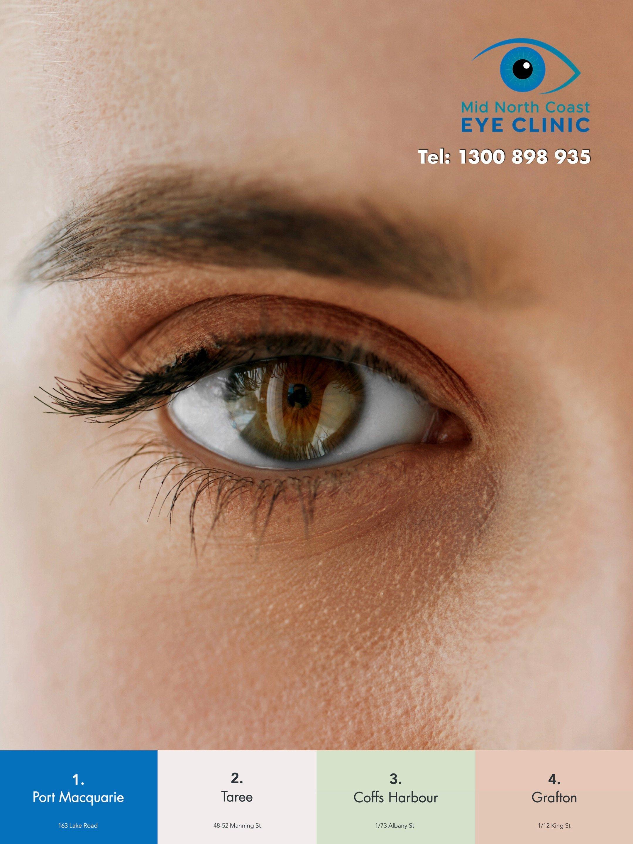 Mid North Coast Eye Clinic information brochure