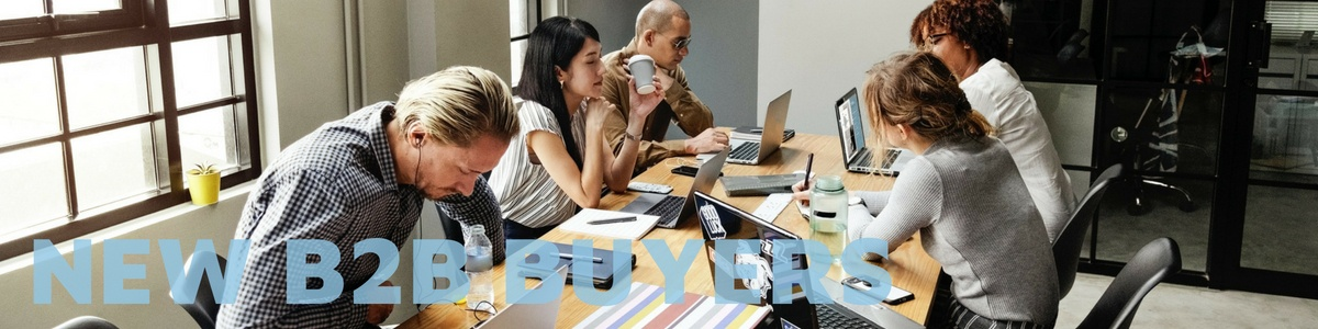 The new B2B buyers and how to sell to them. Image courtesy of Raw Pixel.