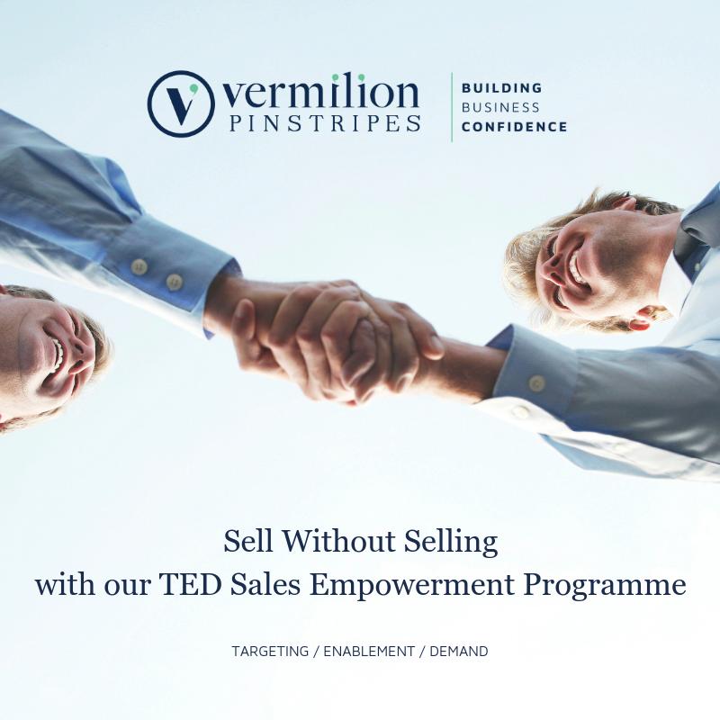 TED SALES EMPOWERMENT PROGRAMME, VERMILION PINSTRIPES