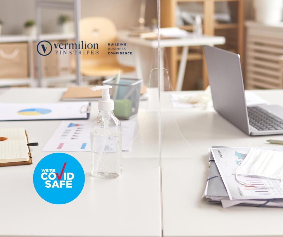Vermilion Pinstripes Australia is a registered COVID safe business