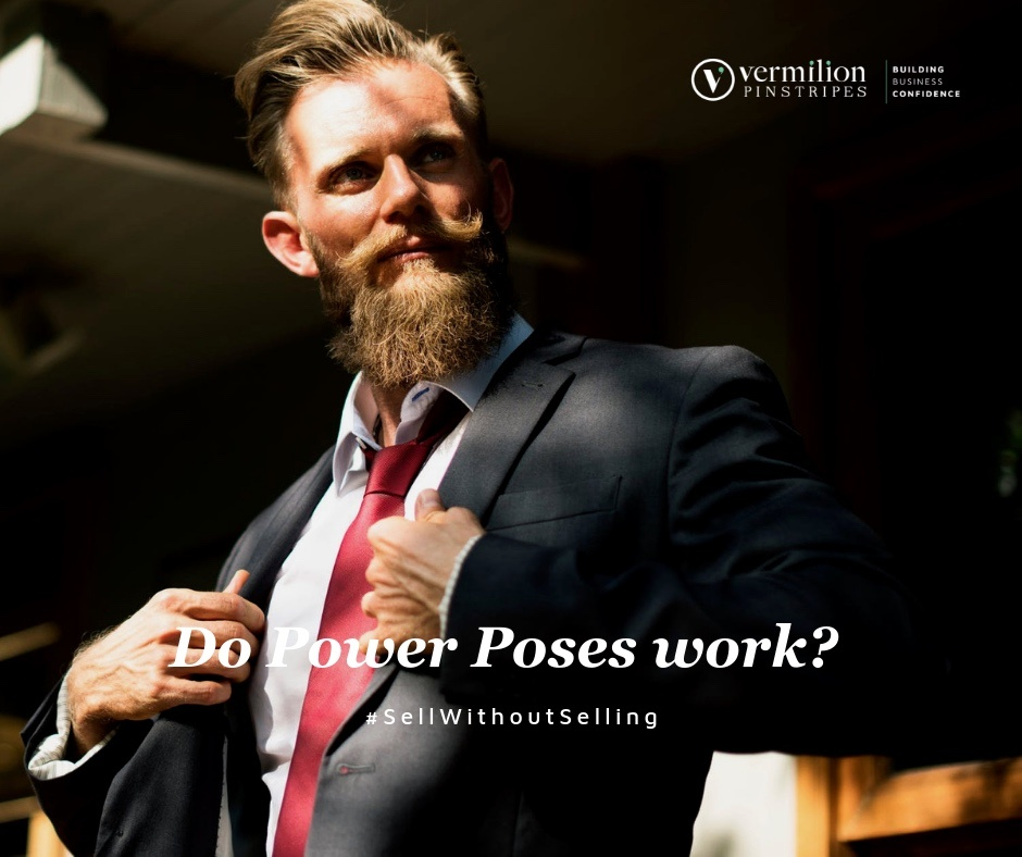 Do Power Poses Work during selling