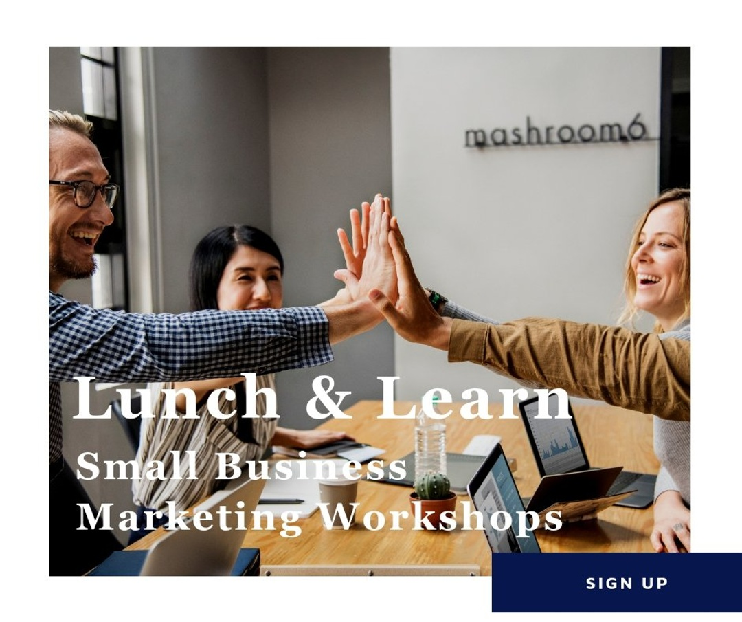 Lunch and Learn small business marketing workshops-1