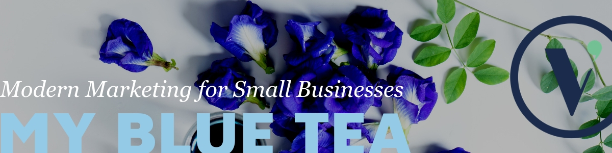 Modern Marketing for My Blue Tea | Vermilion Pinstripes Modern Marketing for Port Macquarie businesses