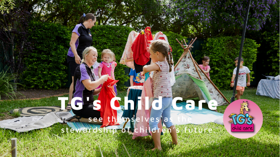 TGs Child Care see themselves as the stewardship of childrens future