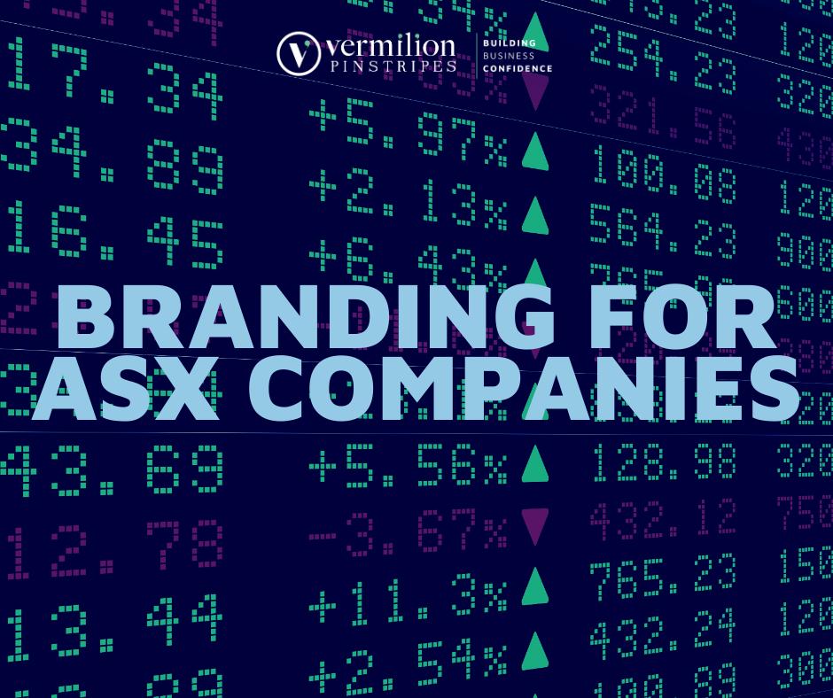 Branding for ASX Companies