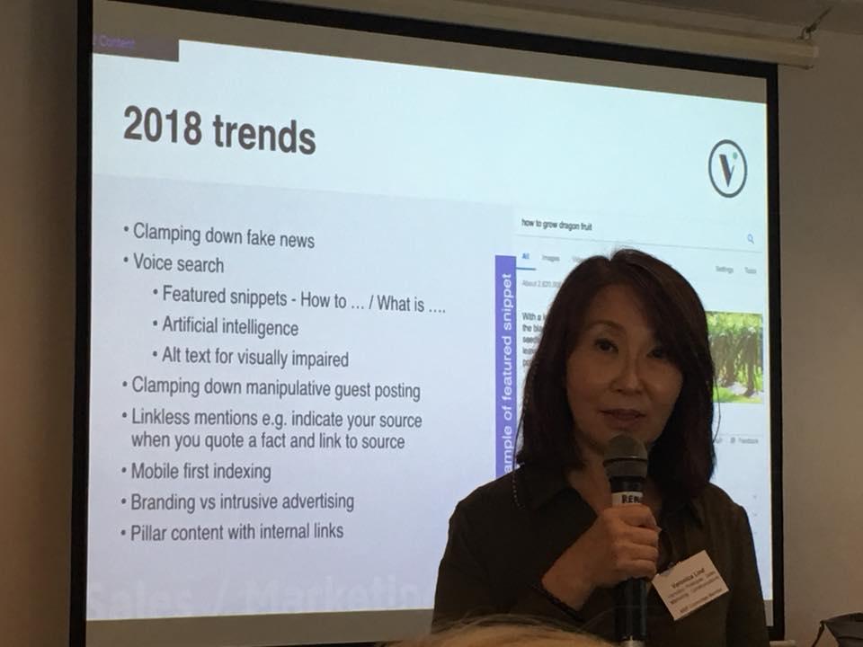SEO TRENDS IN 2018